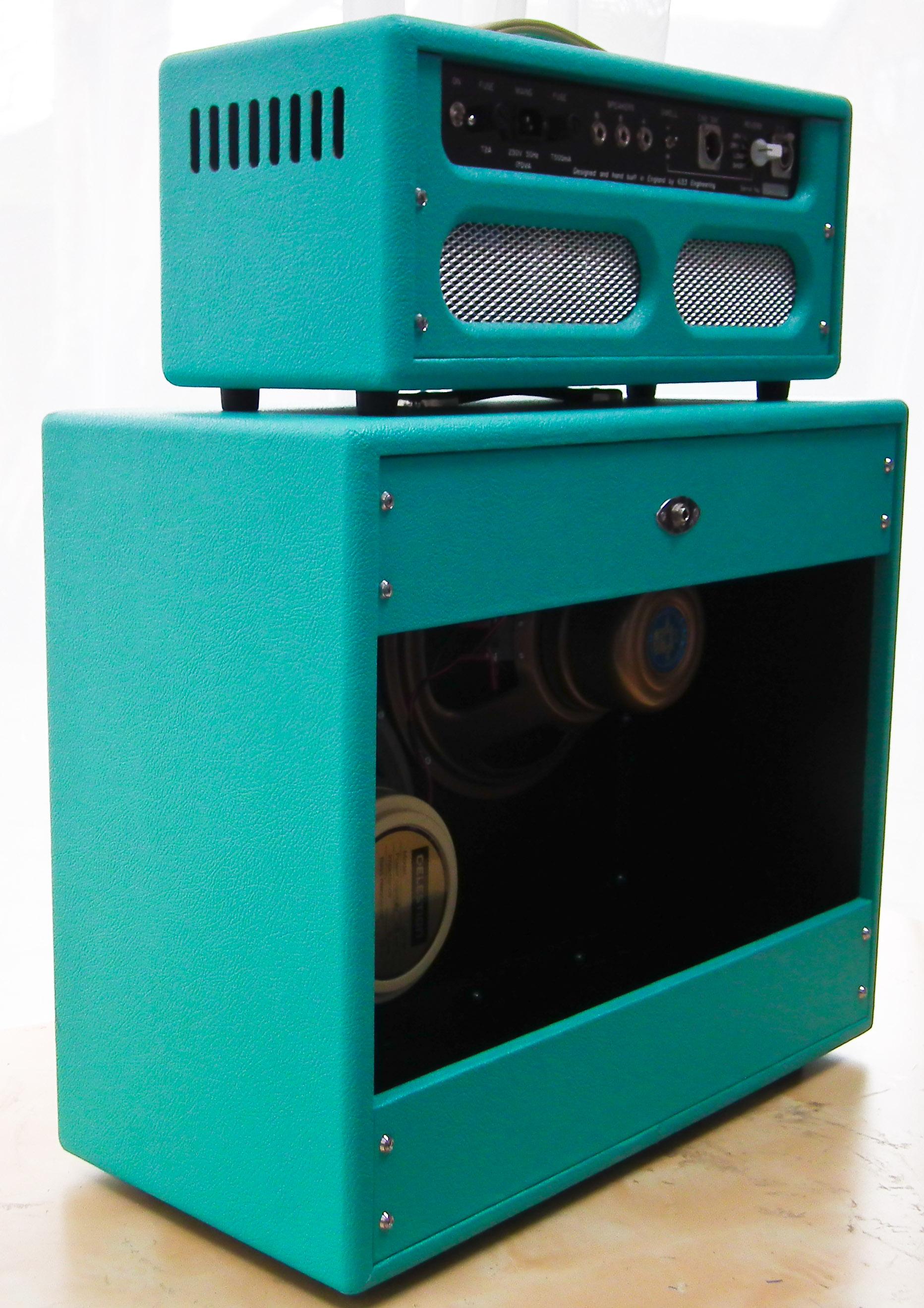 633 Engineering Custom 44  bespoke UK hand made guitar amplifier Stuart Dixon