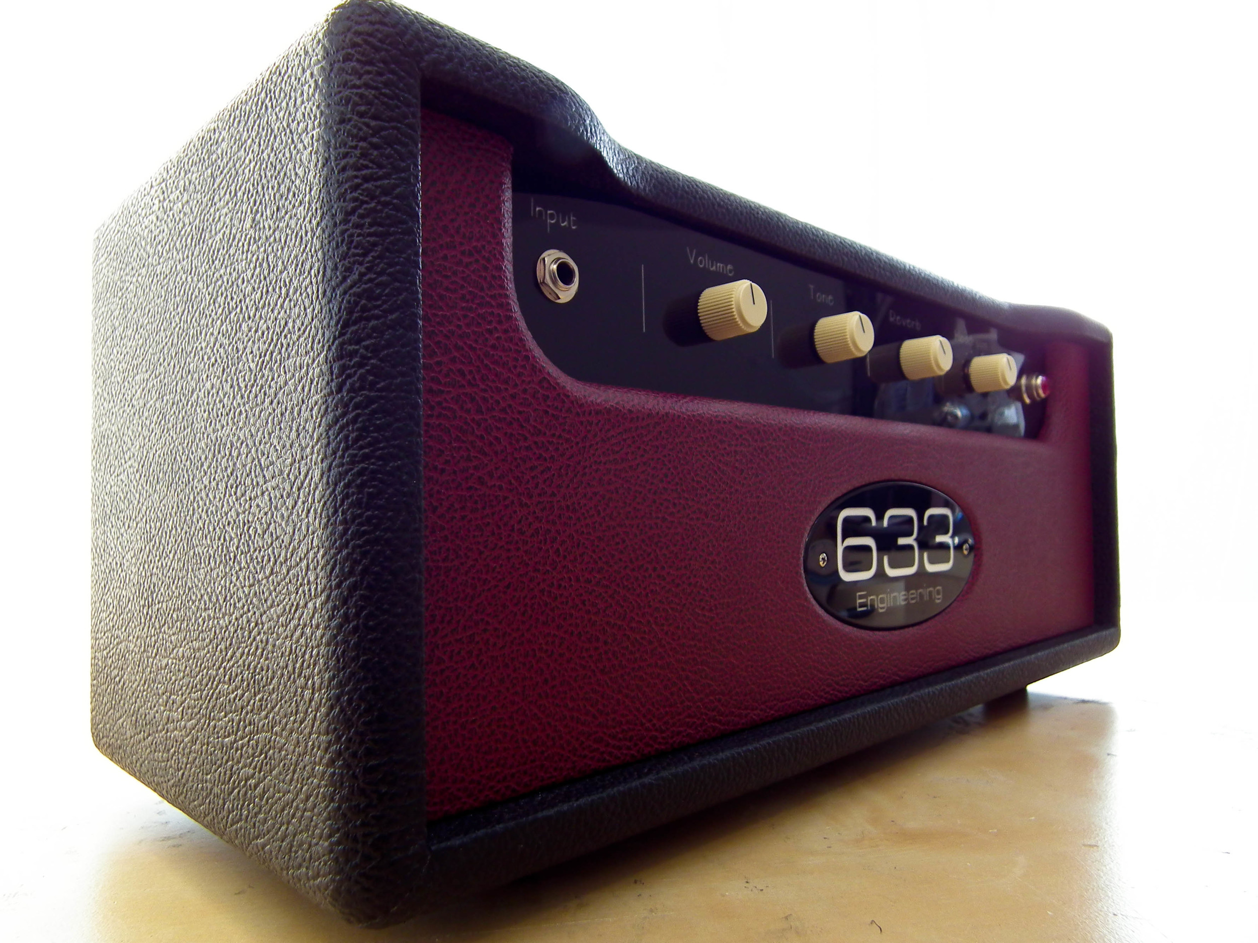 633 Engineering Ruby Custom   bespoke UK hand made guitar amplifier