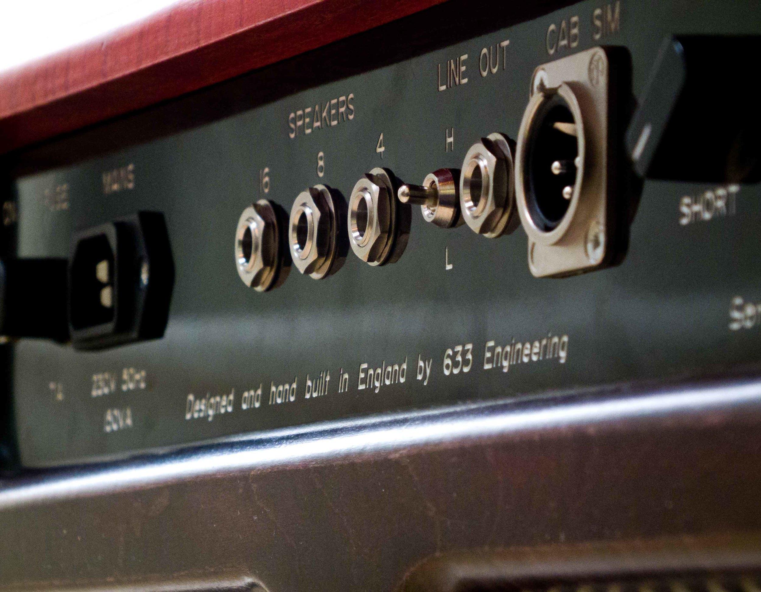 633 Engineering Ruby bespoke UK hand made guitar amplifier