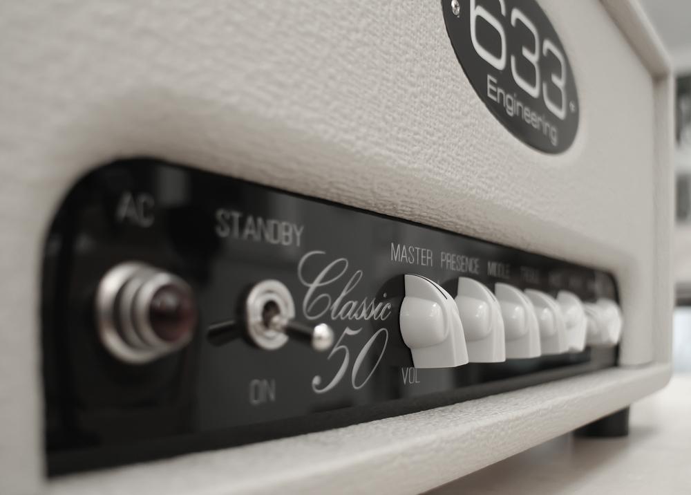 633 Engineering Classic 50  bespoke UK hand made guitar amplifier