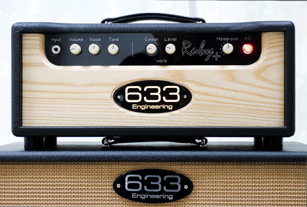 633 Engineering Ruby Plus bespoke UK hand made guitar amplifier