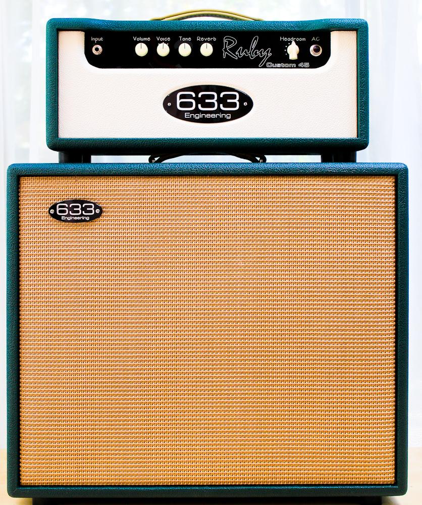 633 Engineering Ruby Custom 45  bespoke UK hand made guitar amplifier