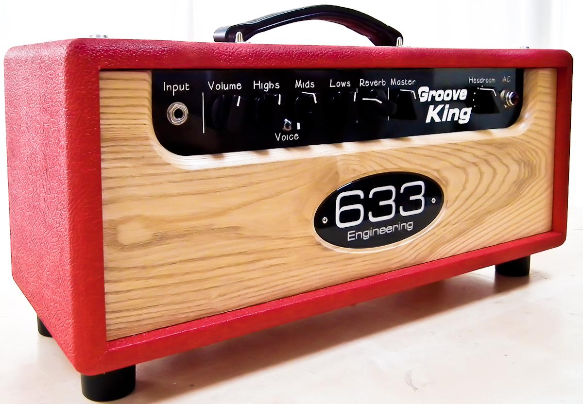 633 Engineering Groove King bespoke UK hand made guitar amplifier