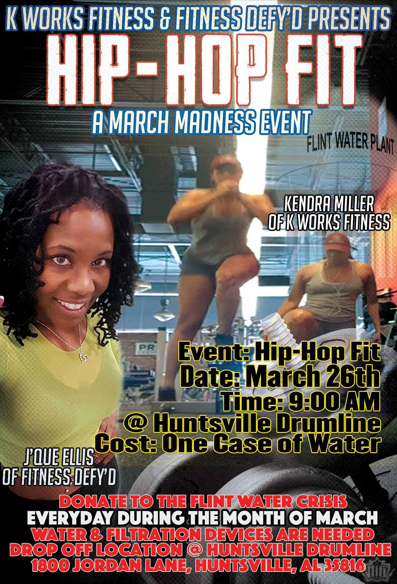 #HipHopFitfor  Flint