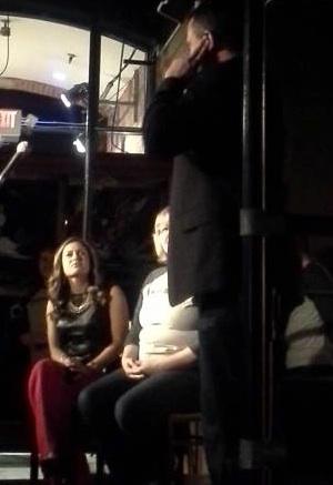"Karina Nova, Darla Munroeand Paul Stelzer in ""Hashtag News."""