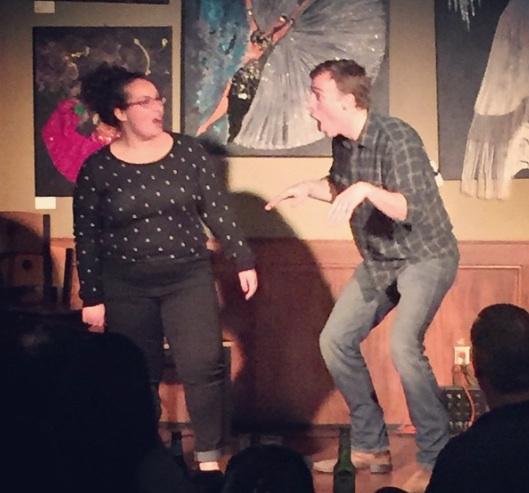 hashtag comedy improv comedy show no refunds