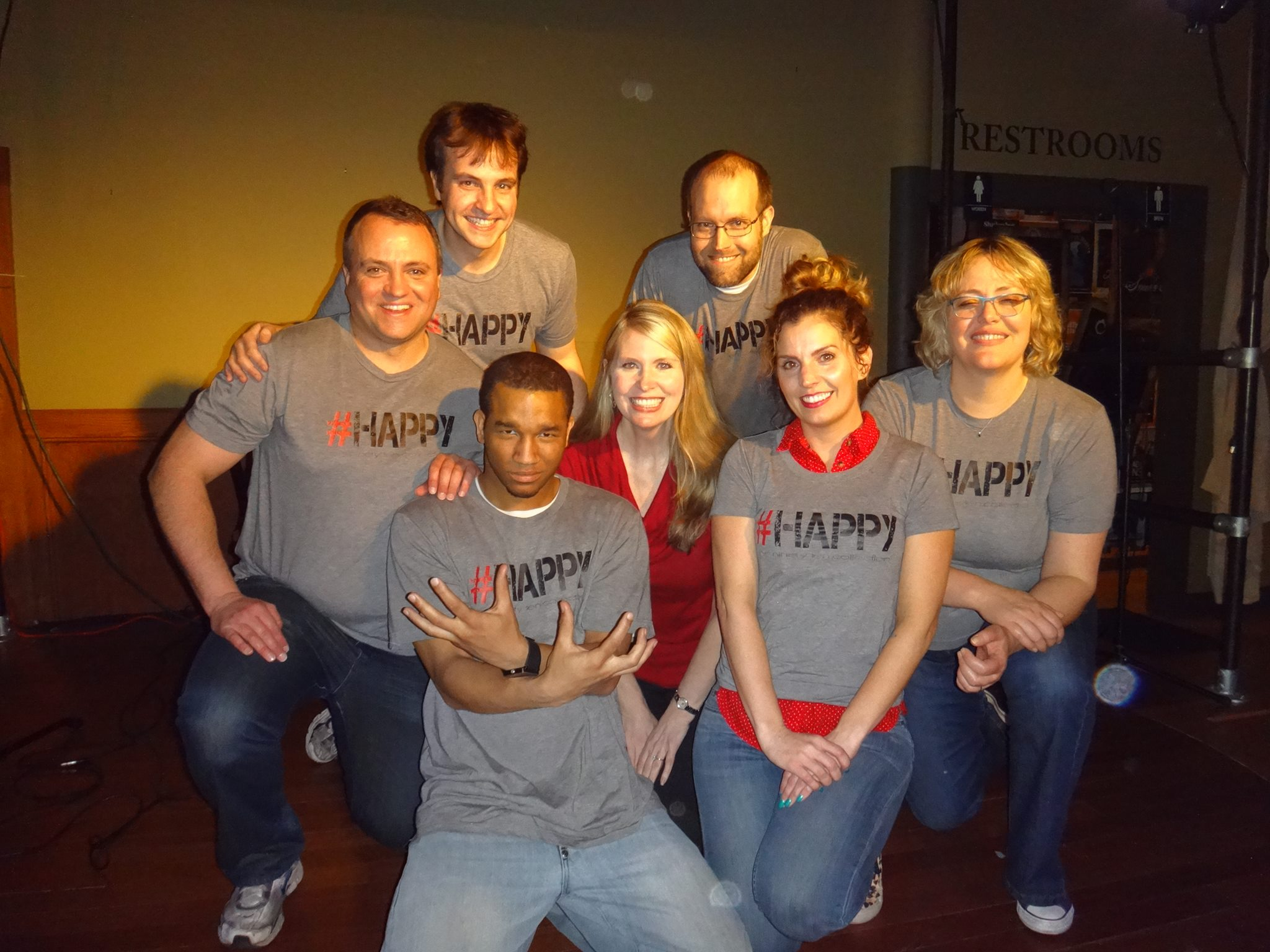 hashtag comedy improv amy taylor stories