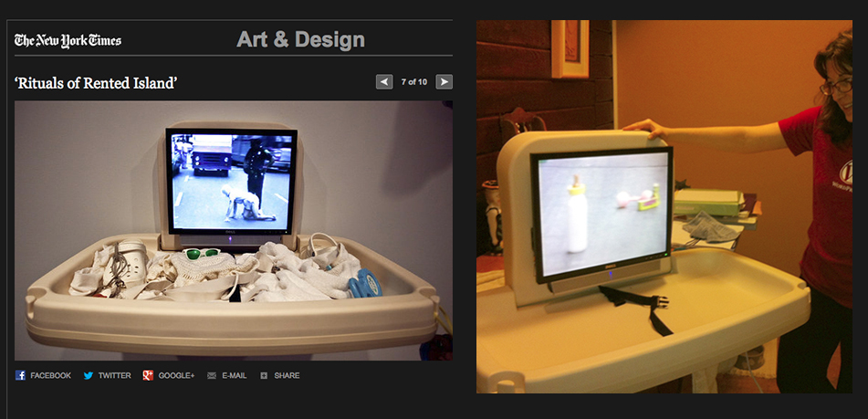 """""""Baby Changing Station"""" fabricated by BHD Whitney Museum of American Art"""