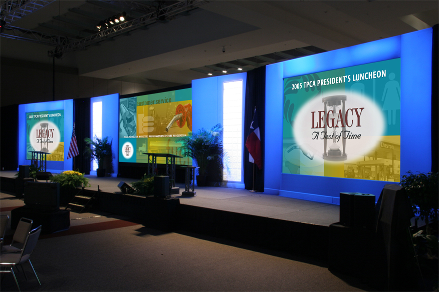 Graphics and Stage Design TPCA Annual Conference