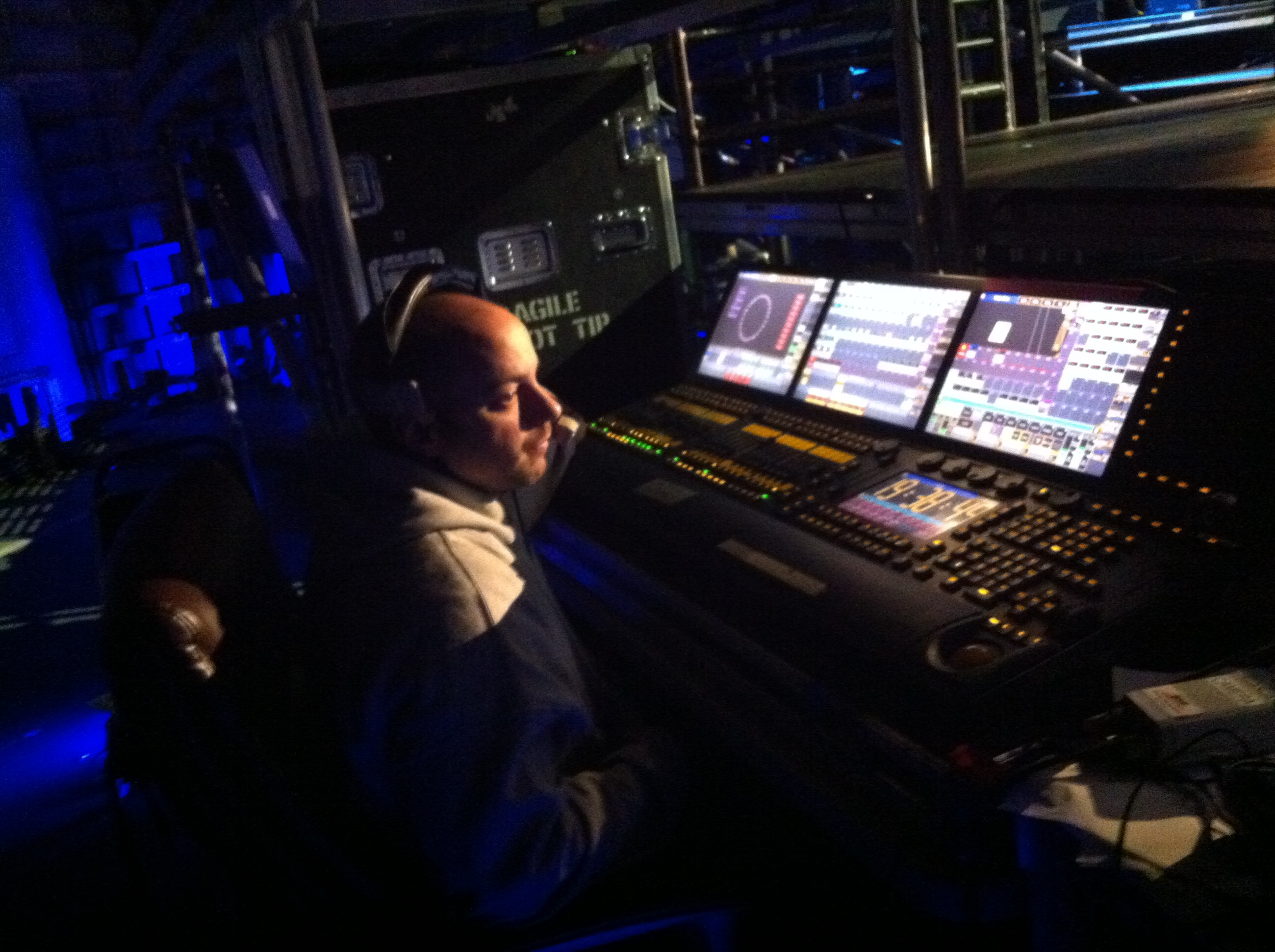 Lighting Design and show programming by Guy Pavelo of  GP Design   .