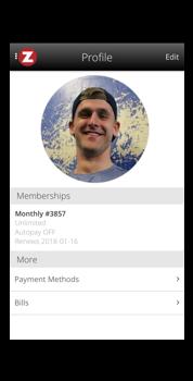 Zen Planner Profile Menu.png