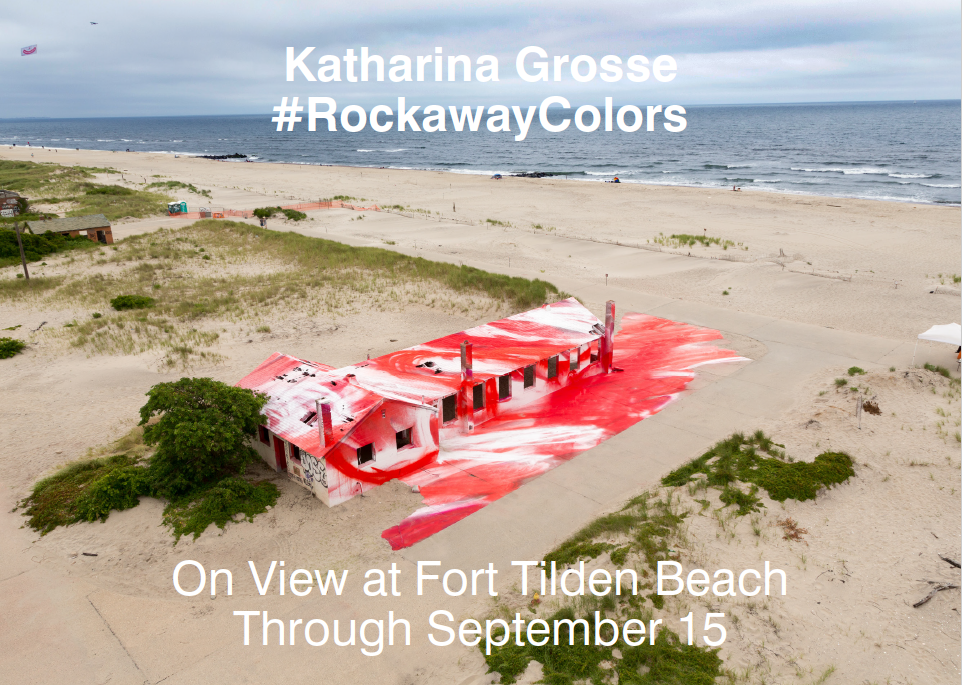 The Katharina Grosse exhibition. For more information,  click here .