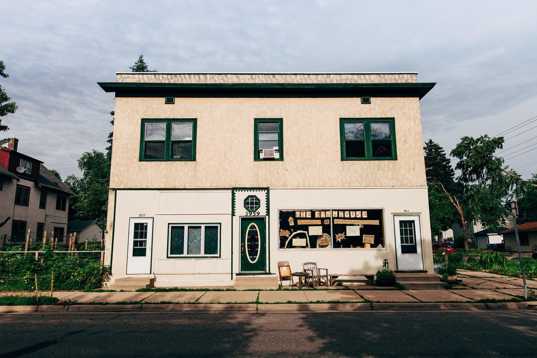 The Farmhouse & Tiny DinerFarm Plot.