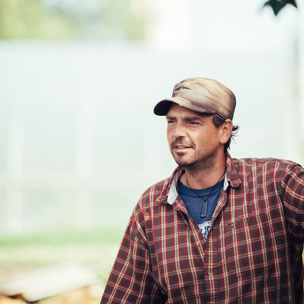 Stefan Meyer, Production Manager & Founding Farmer of Growing Lots Urban Farm.