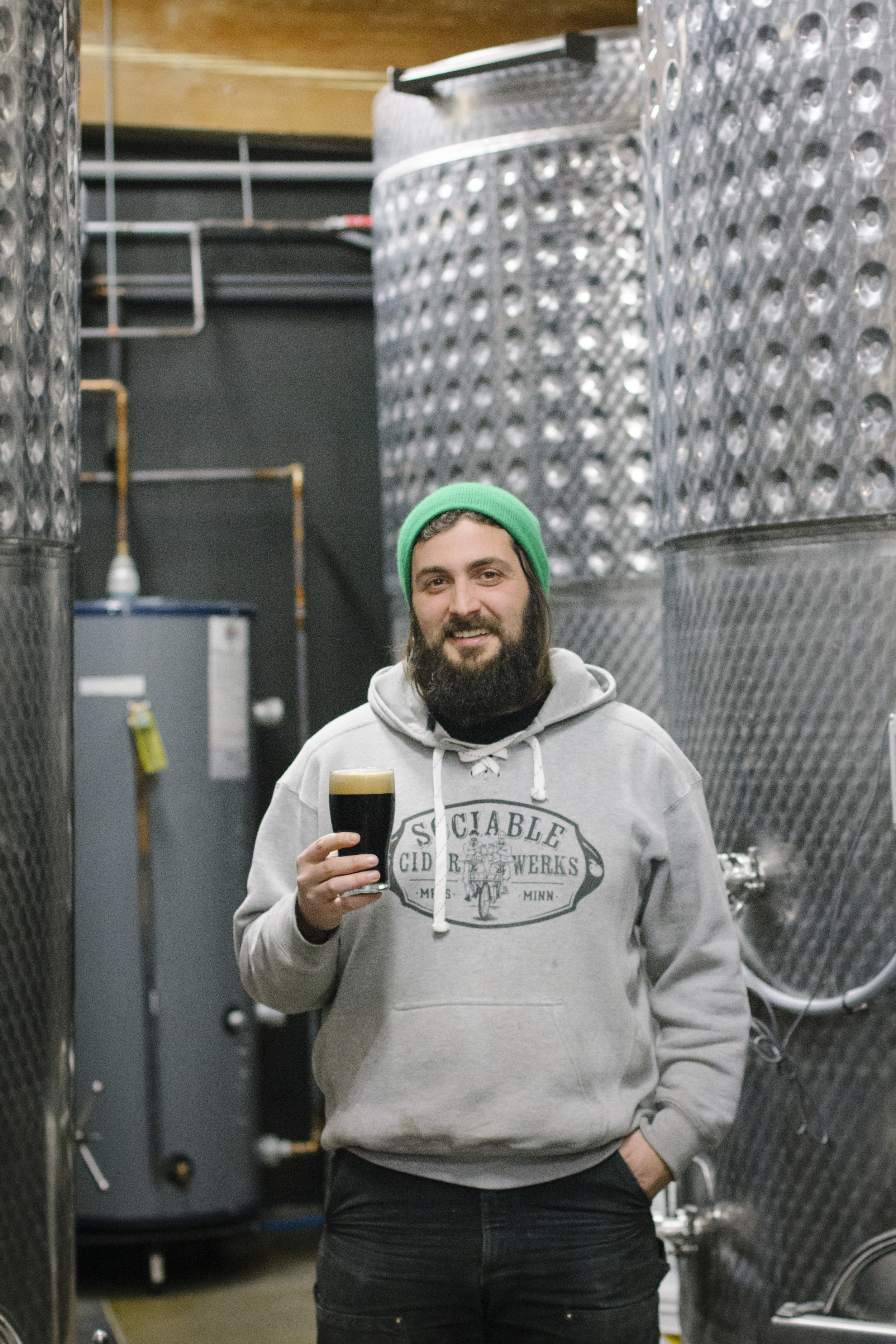 Head Brewer Mike Willaford.
