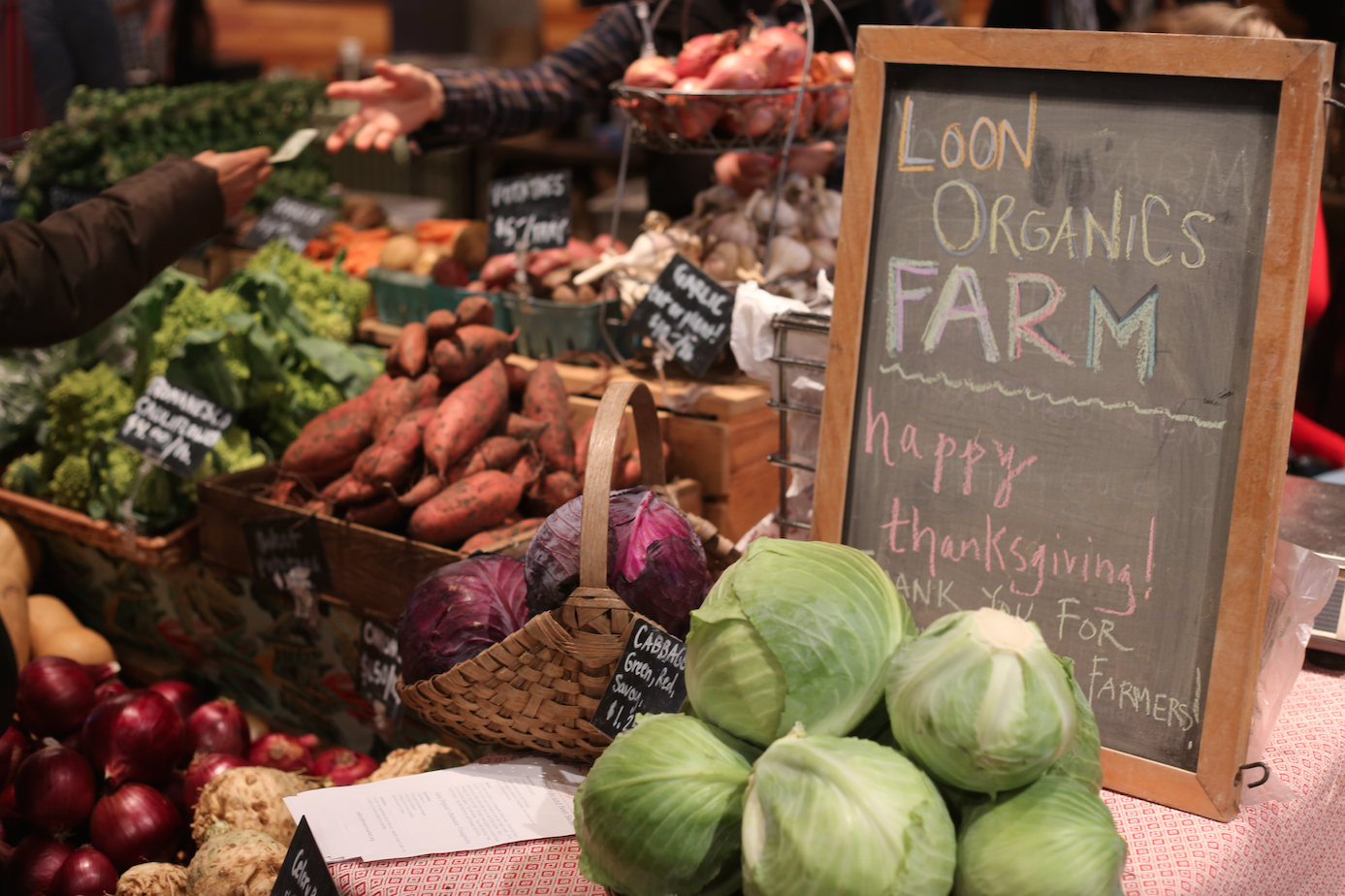 Loon Organics  is a certified-orgranic farm that is situated on 40 acres 70 miles west of Minneapolis. A must see vendor for the most beautifully cared after produce.