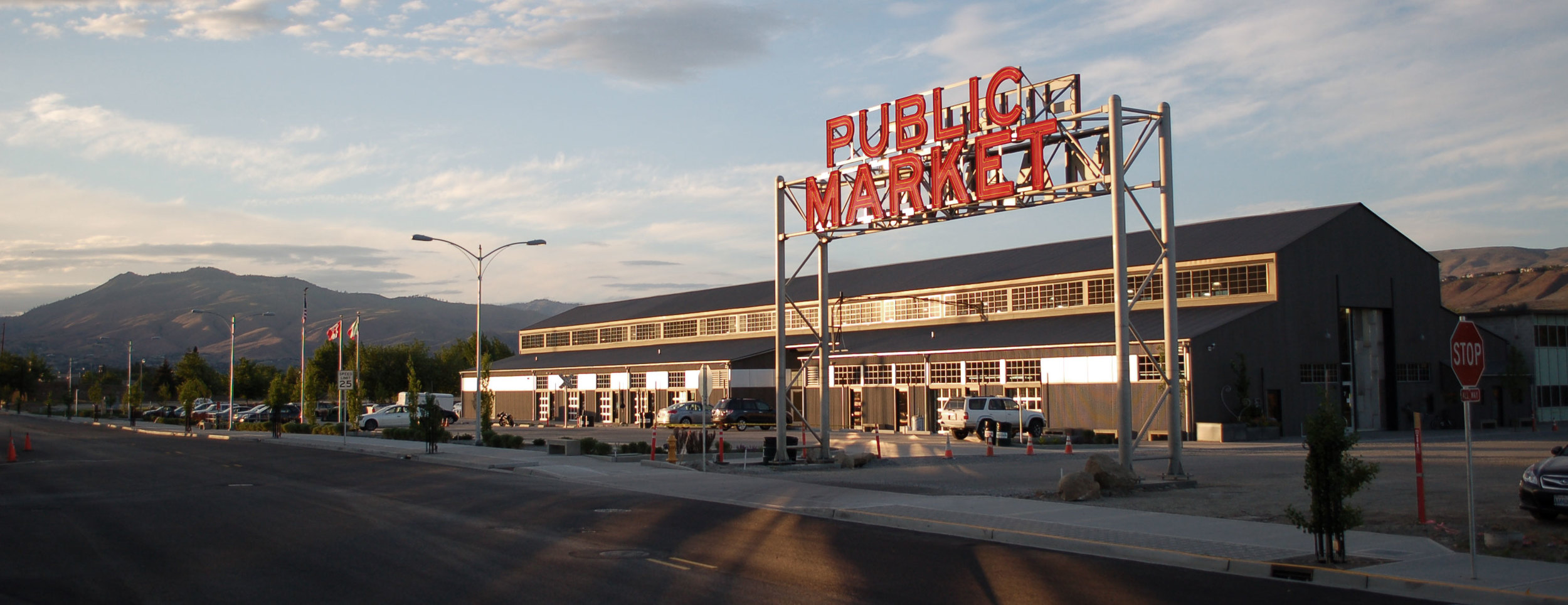Pybus Public Market – poised to open its doors to Wenatchee valley merchants and farmers.