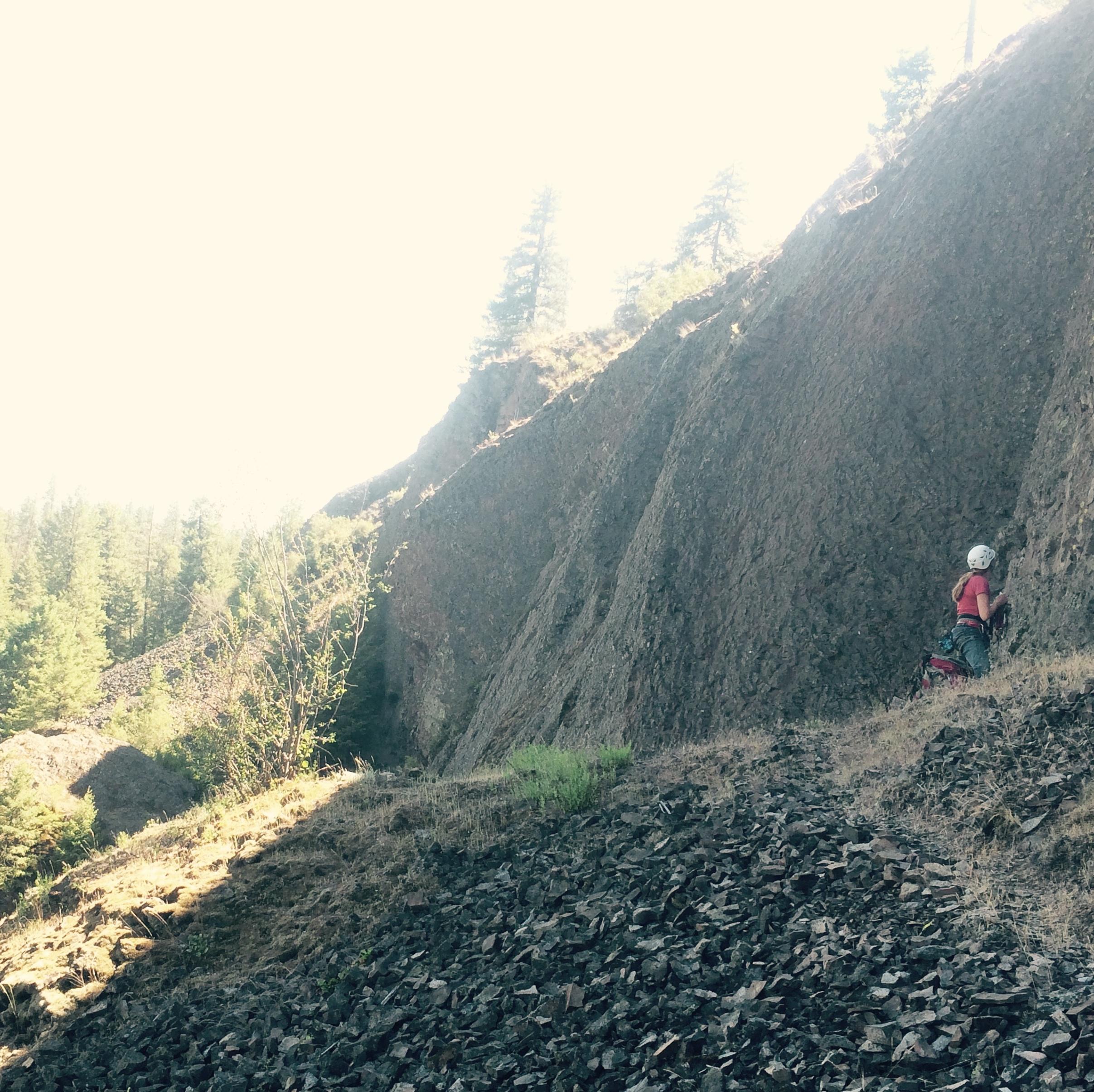 Deep-Creek-Canyon-rock-climbing-Wild-Walls-Spokane-Riverside