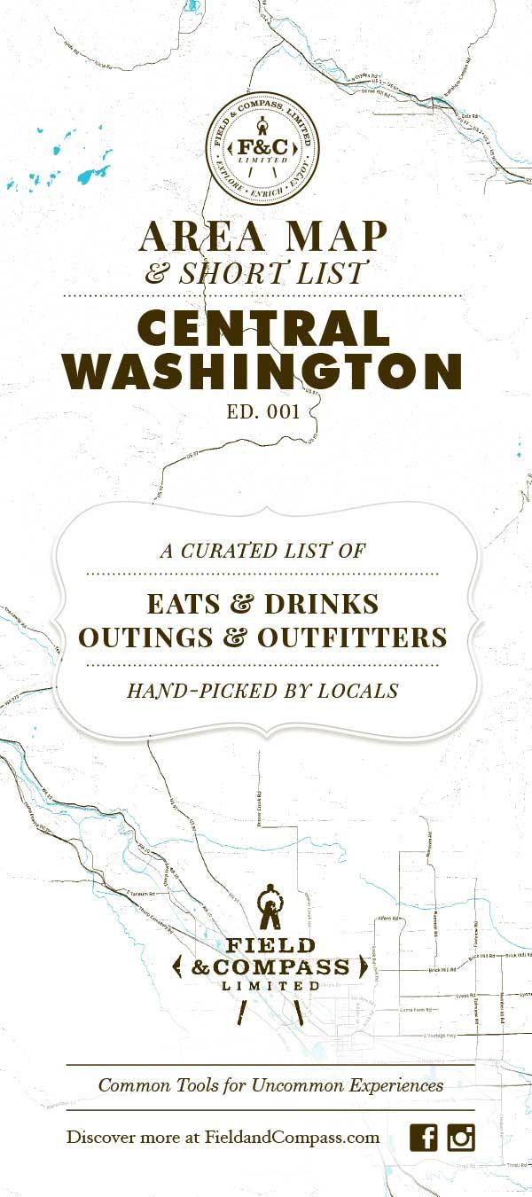 Ellensburg, Cle Elum Map and Short List