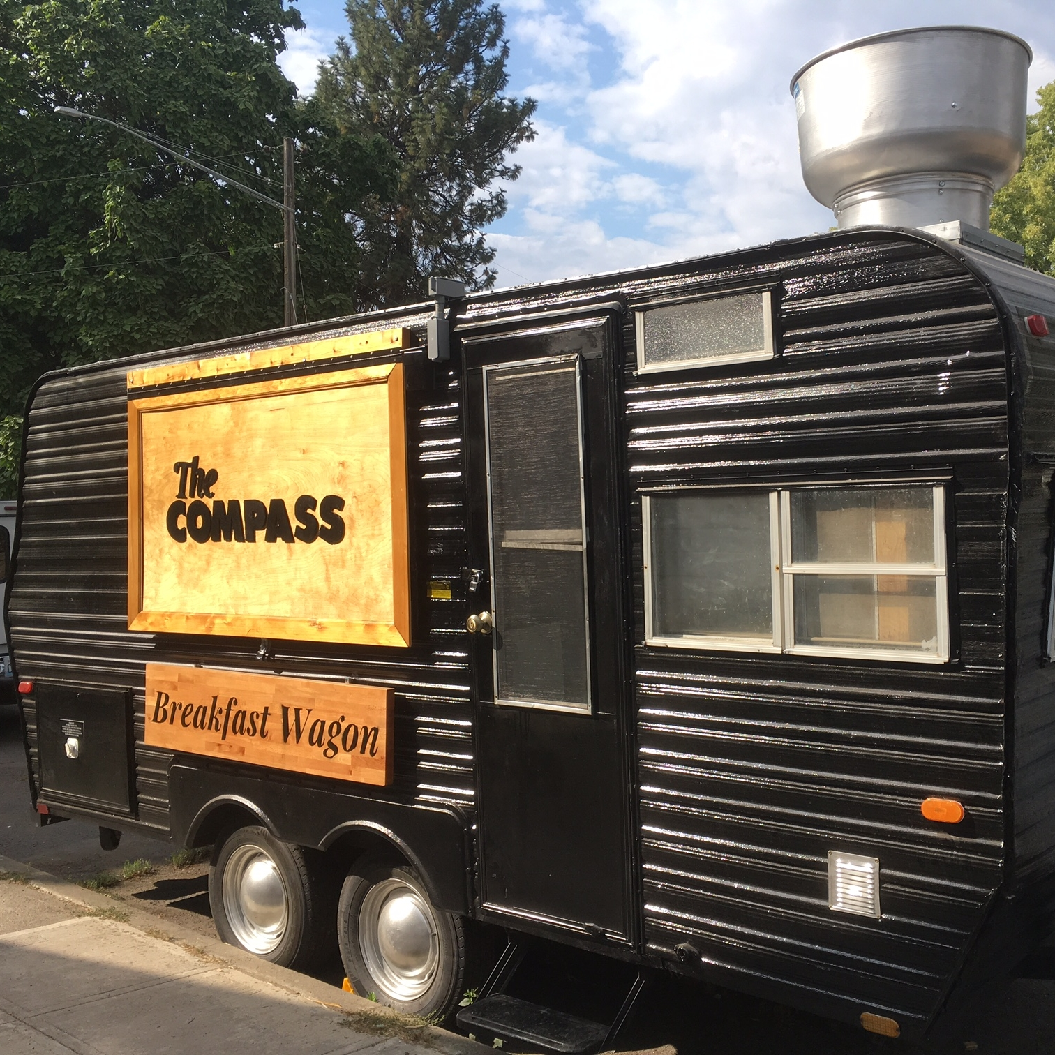 THE COMPASS BREAKFAST WAGON
