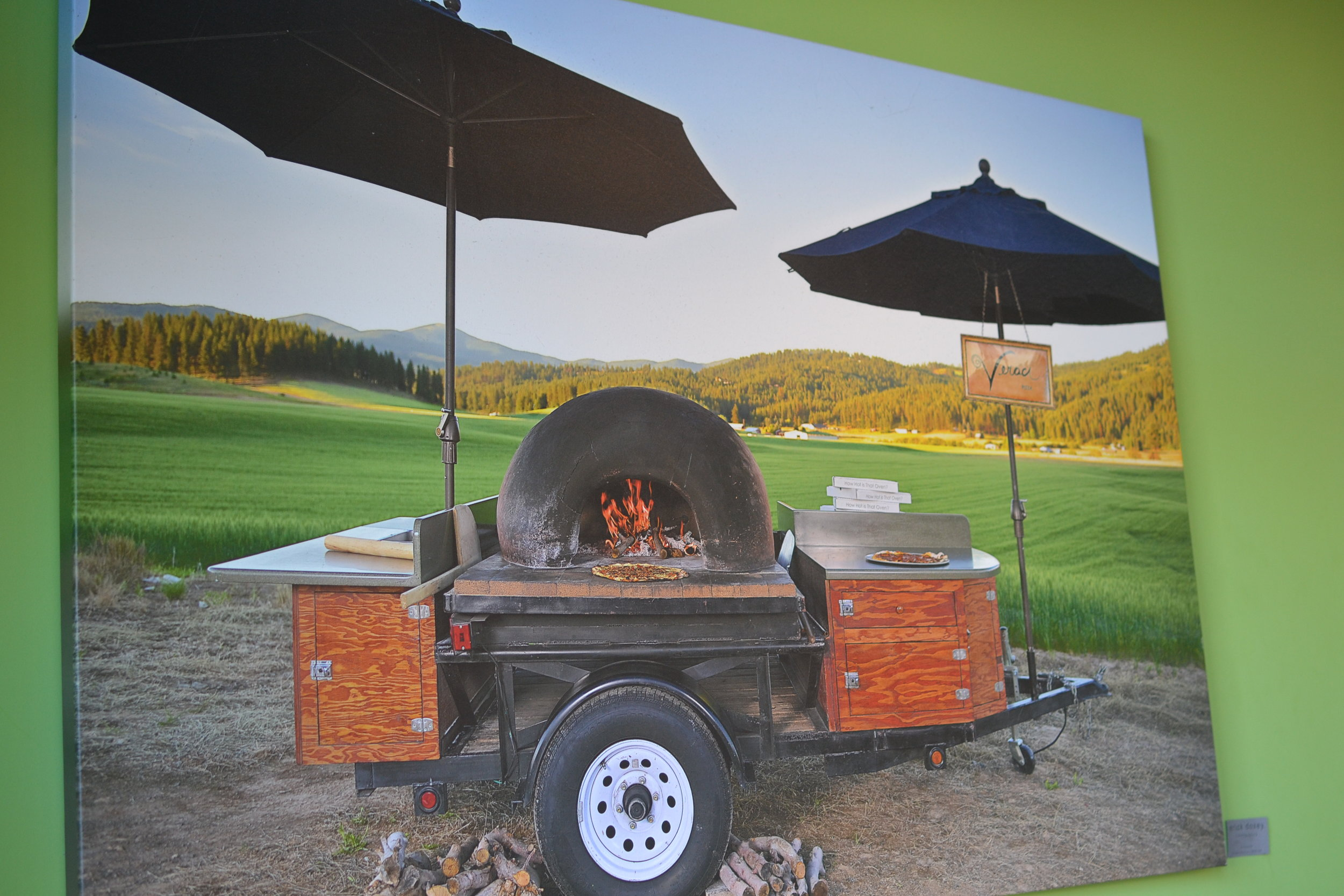 Photo of Veraci Spokane's Pizza Cart by  Eric Doxey .