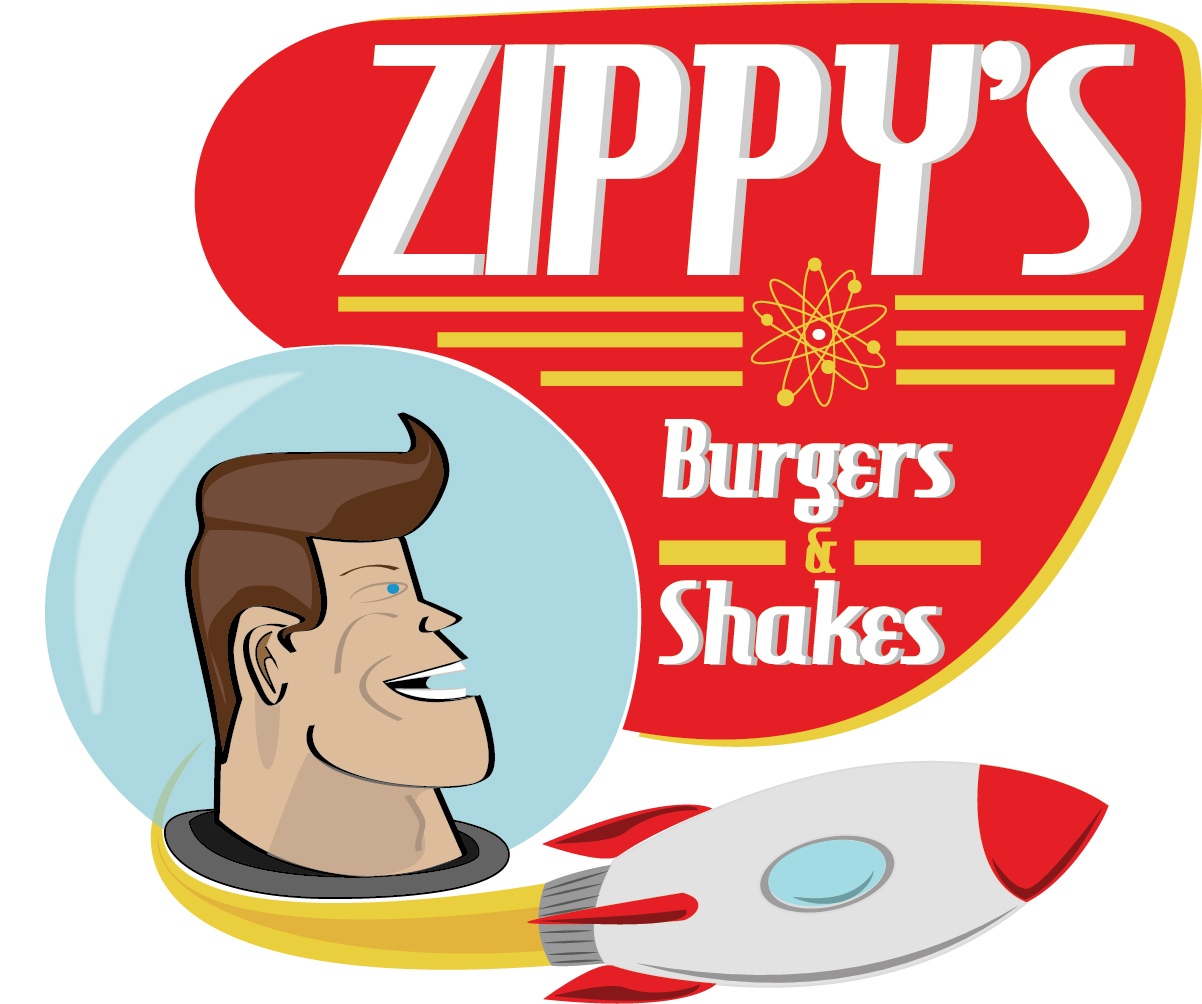 Concept logo for a fictional restaurant. Designed for a concept design class.