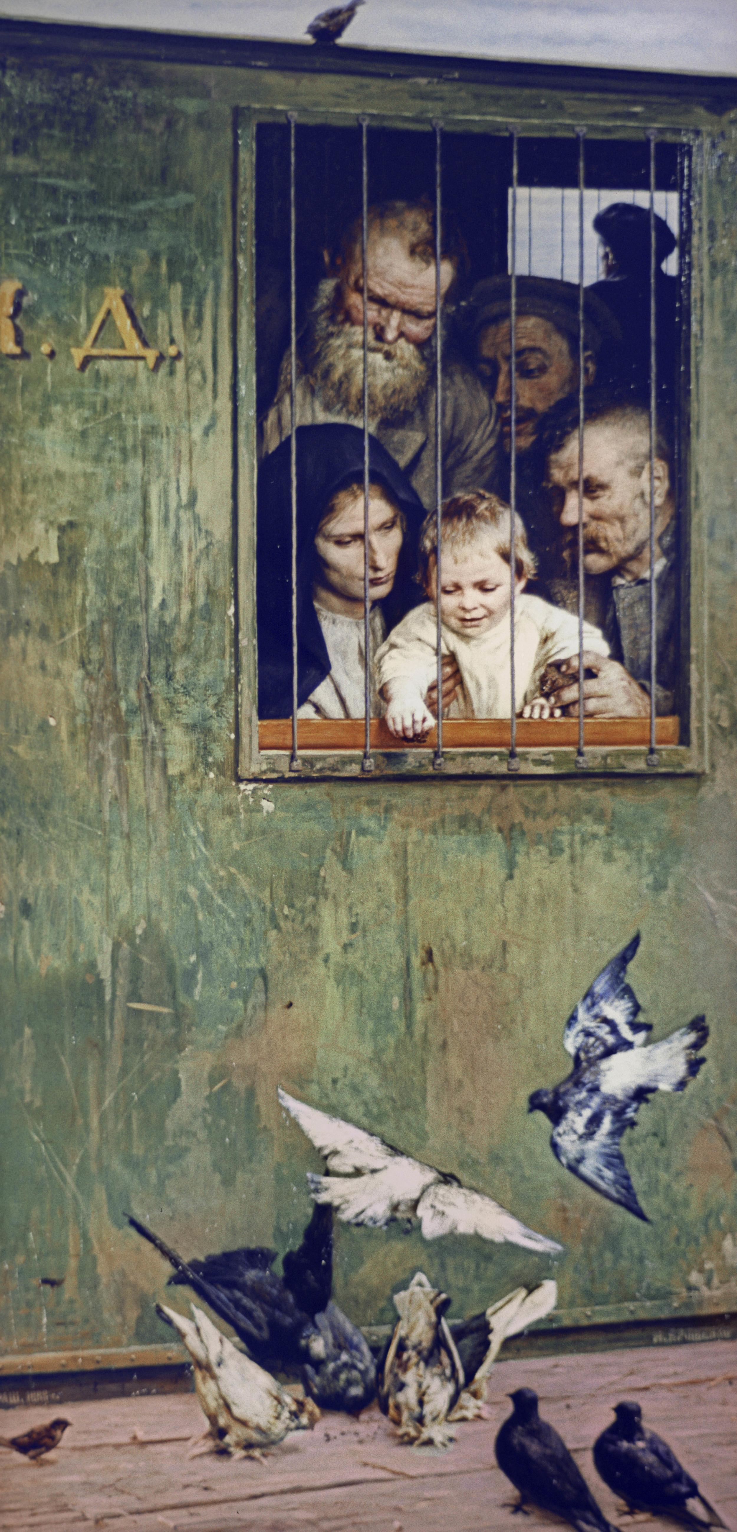"""There is Life Everywhere"" by Nikolai Yaroshenko"