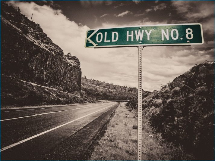 Old Hwy- Red Blend