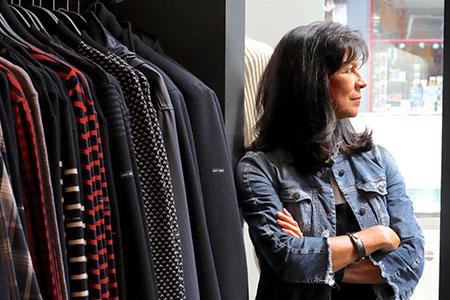Des patrons de Vogue au tenues Chanel, Journal d'Outremont, Automne 2018