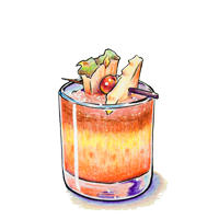 CAT TAI  captain morgan coconut, gaucho light rum, pineapple, falernum, cruzan black strap rum        $11.