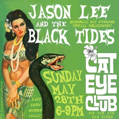 We'll be OPEN on Sunday, 5/28 for a PatrioTiki Sunday Funday! Enjoy live surf tunes with Jason Lee & The Black Tides and go on staycation with our TIKI cocktails. Doors OPEN at 5PM!