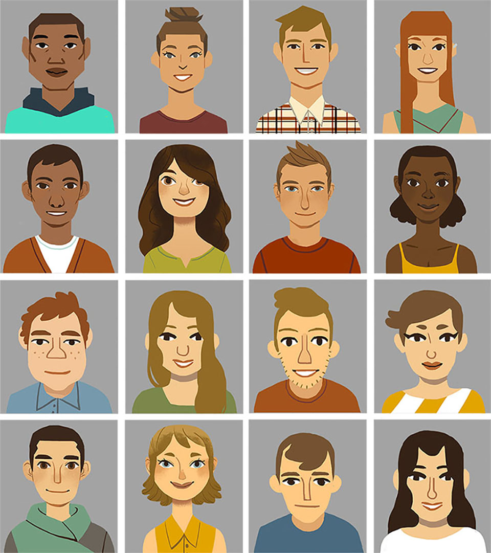 Unused Character Designs