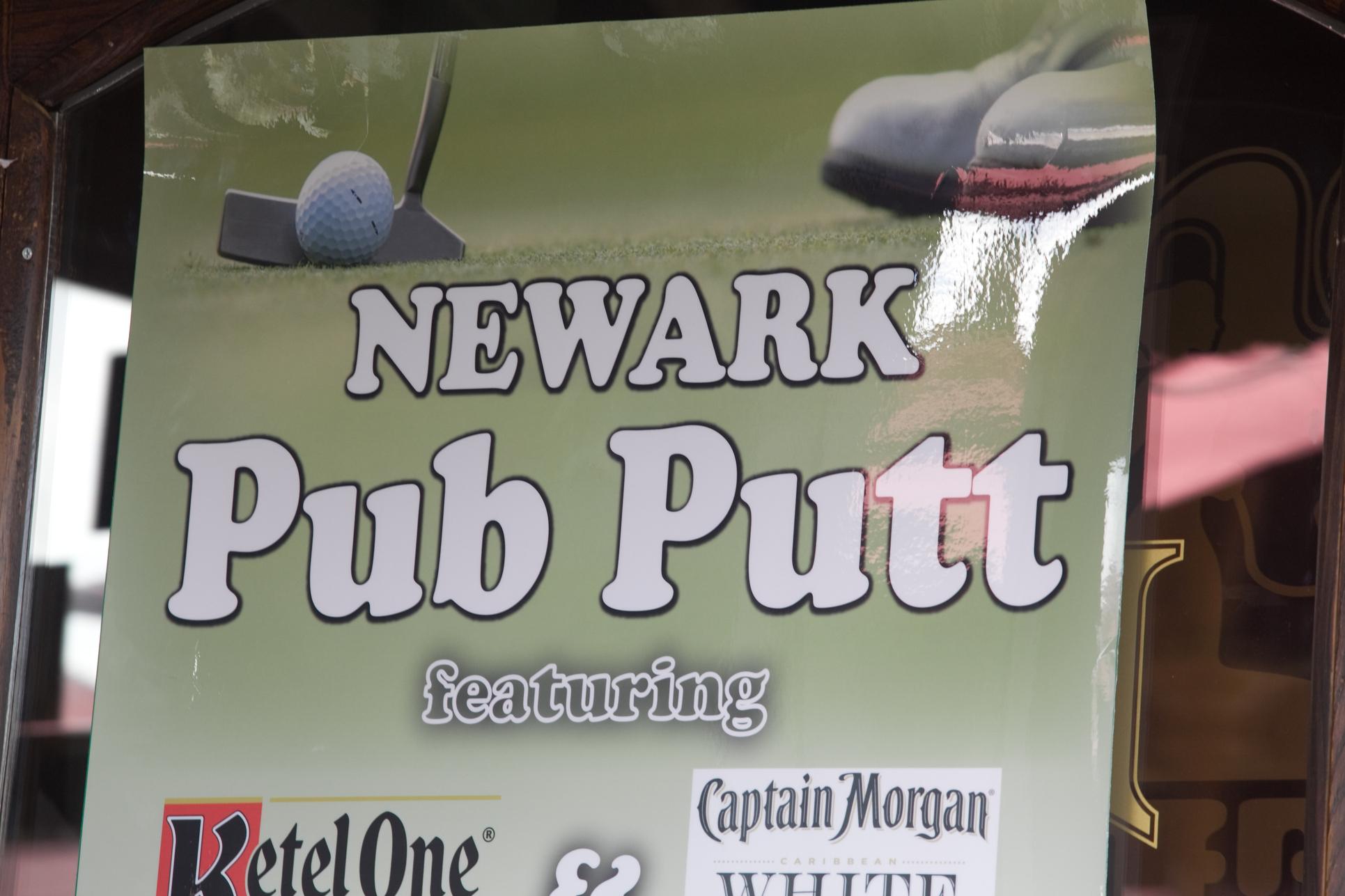 Delaware Jaycees Pub Putt in Newark, Delaware on September 20, 2014