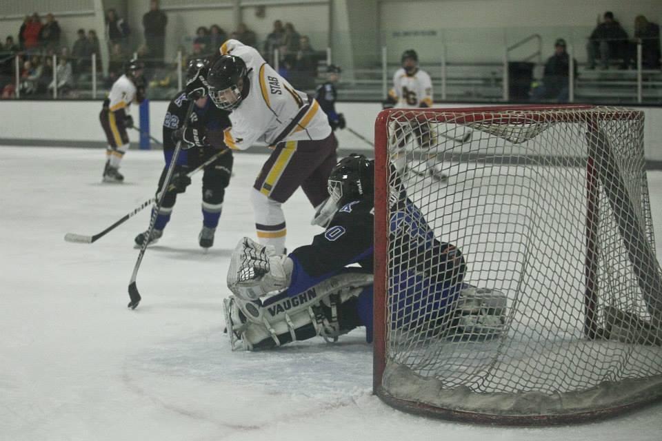 Avon Grove vs Kennett Ice Hockey in Newark, Delaware on January 2, 2015 (2/365)