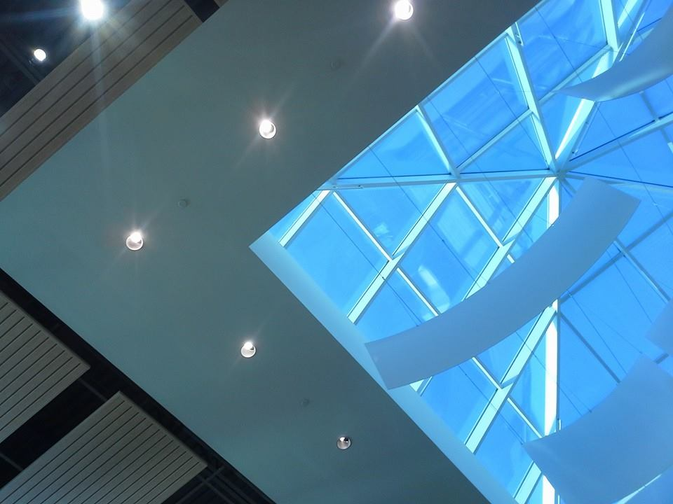 One of the skylights at Christiana mall, right before sunset #project365 (50/365)