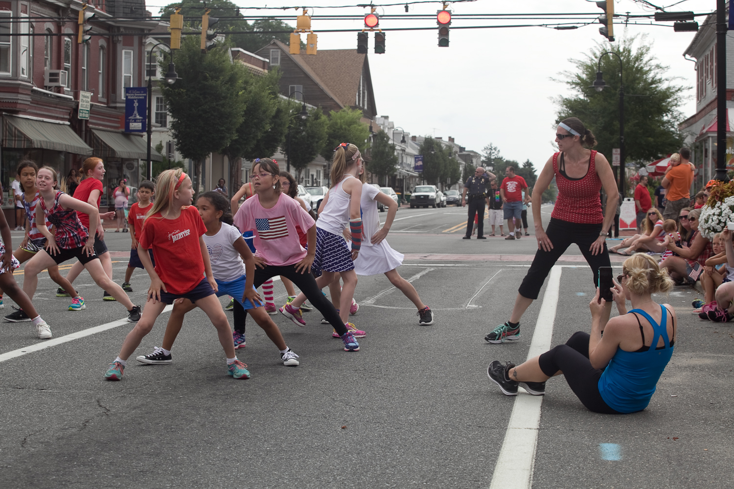 Middletown July 4th parade in Middletown, Delaware on July 4, 2015