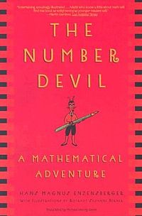 This is the cover of The Number Devil.