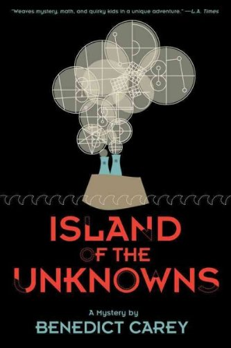 This is the cover of Island of the Unknowns.