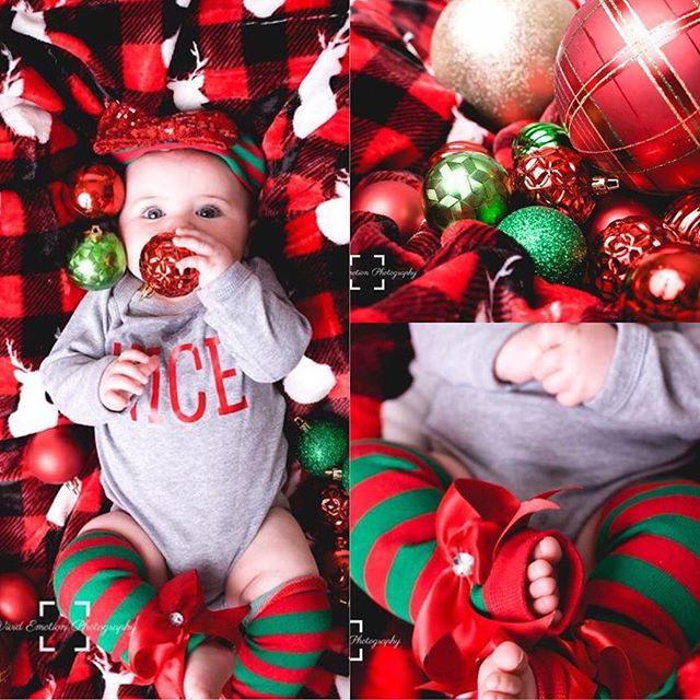 What a #cutie! All decked out and ready for #Santa #merrychristmas #happyholidays :: DM or email to book your family or kids holiday photos today!
