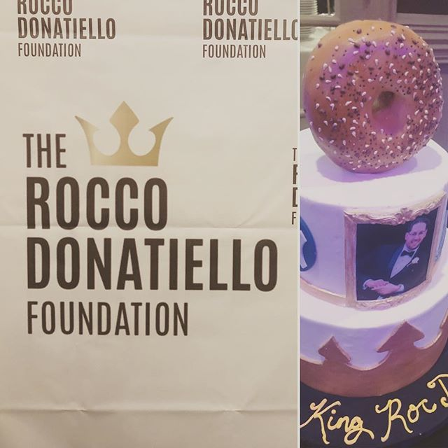 Happy Birthday Rocco. We miss you.  What a beautiful night to celebrate life  @manhattan.bagel