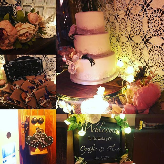 congratulations to #becomingaburns!! an amazing couple who put together one heck of a party @thebarrownj in clifton! #njwedding #wedding #reception #speakeasy