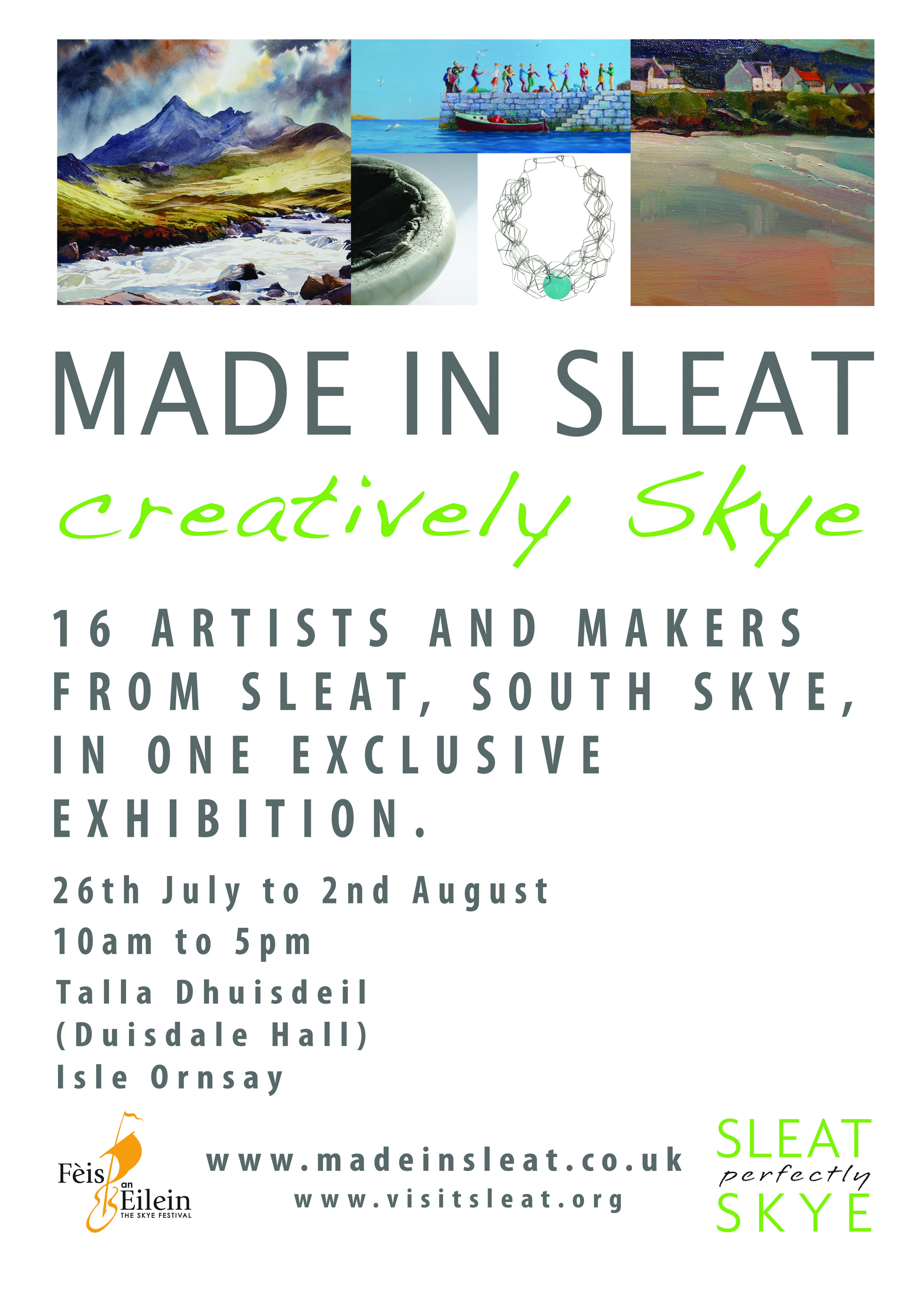Made in Sleat leaflet