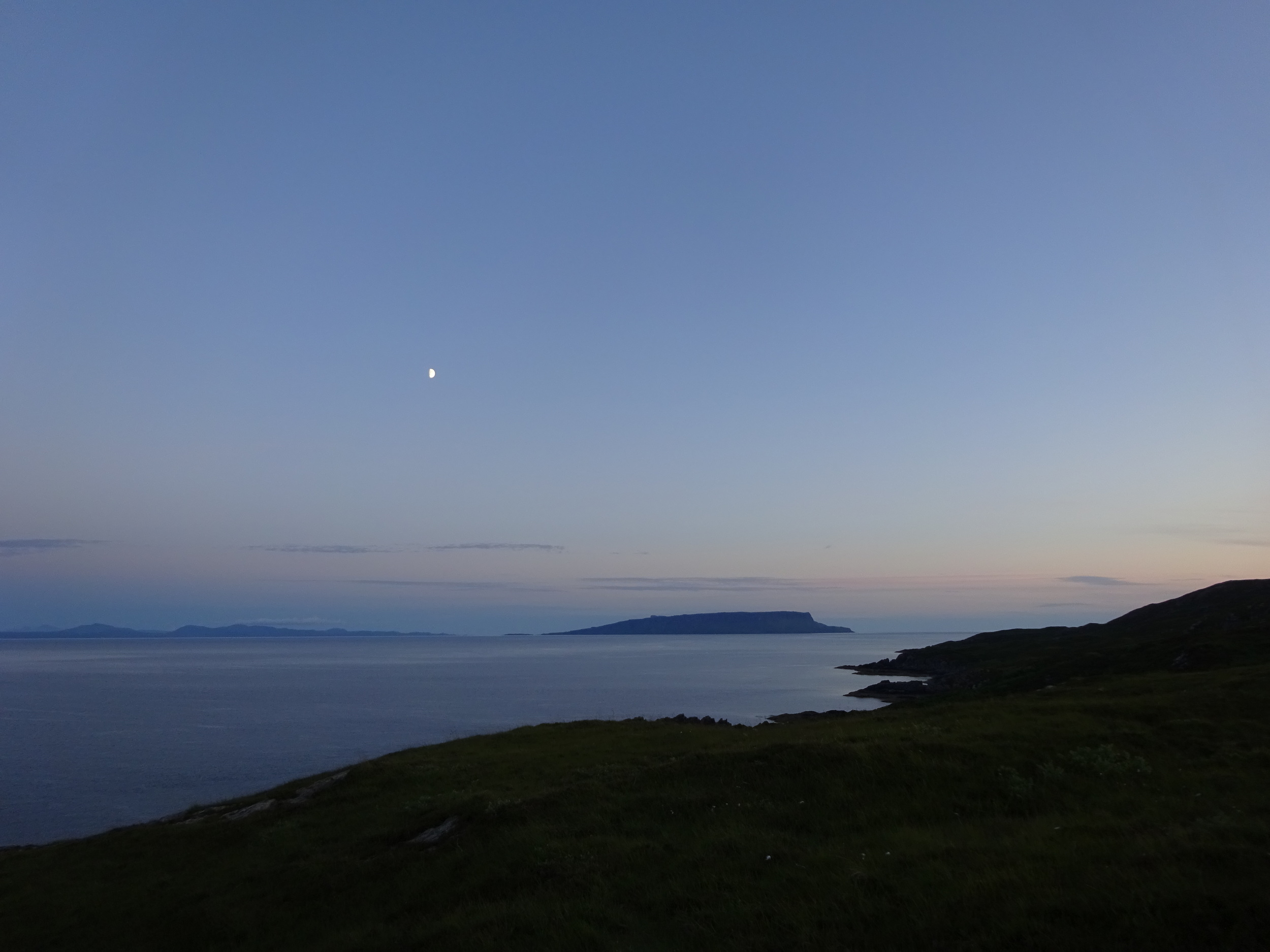 Looking out to Eigg!