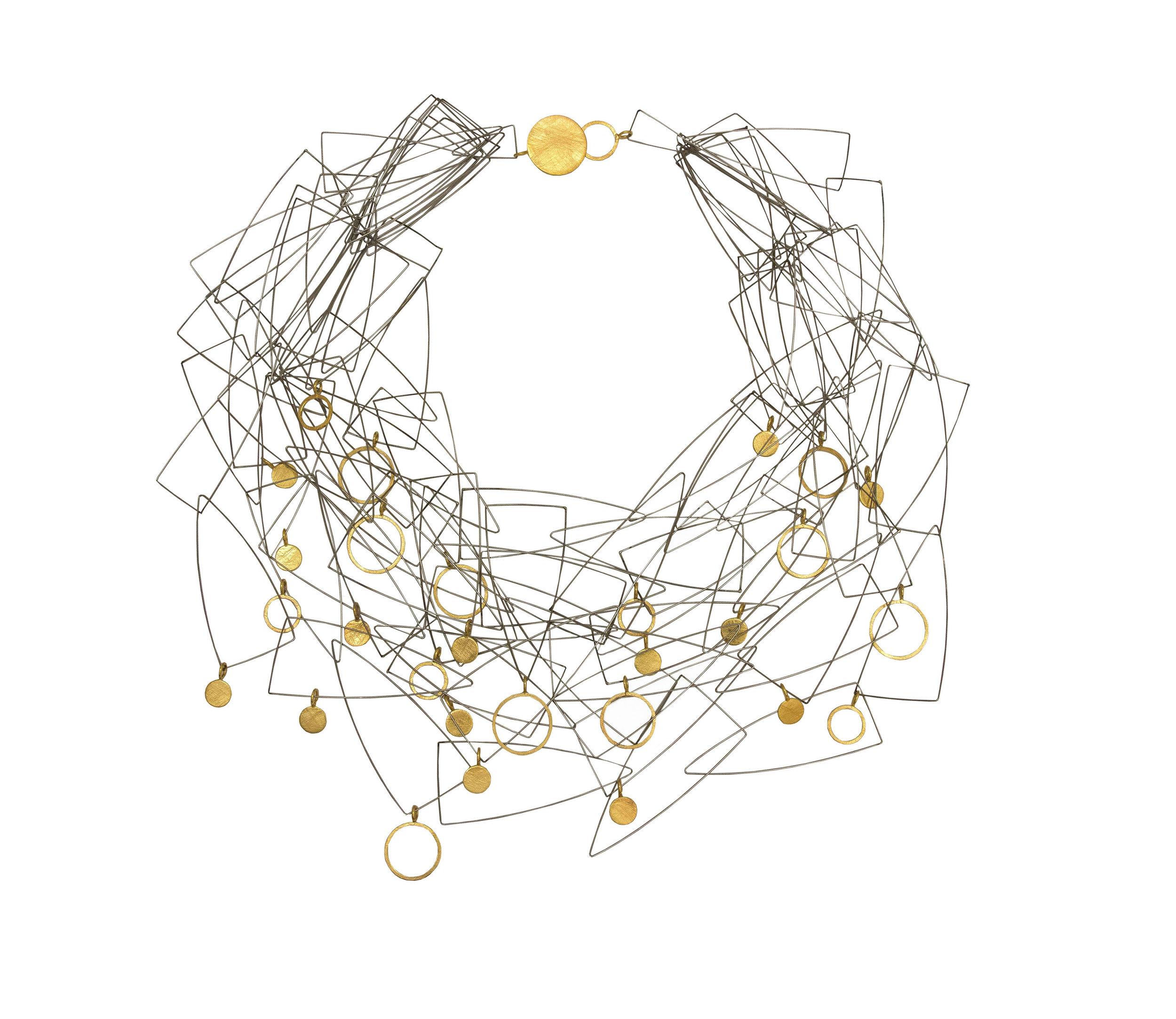 flotsam cluster necklace