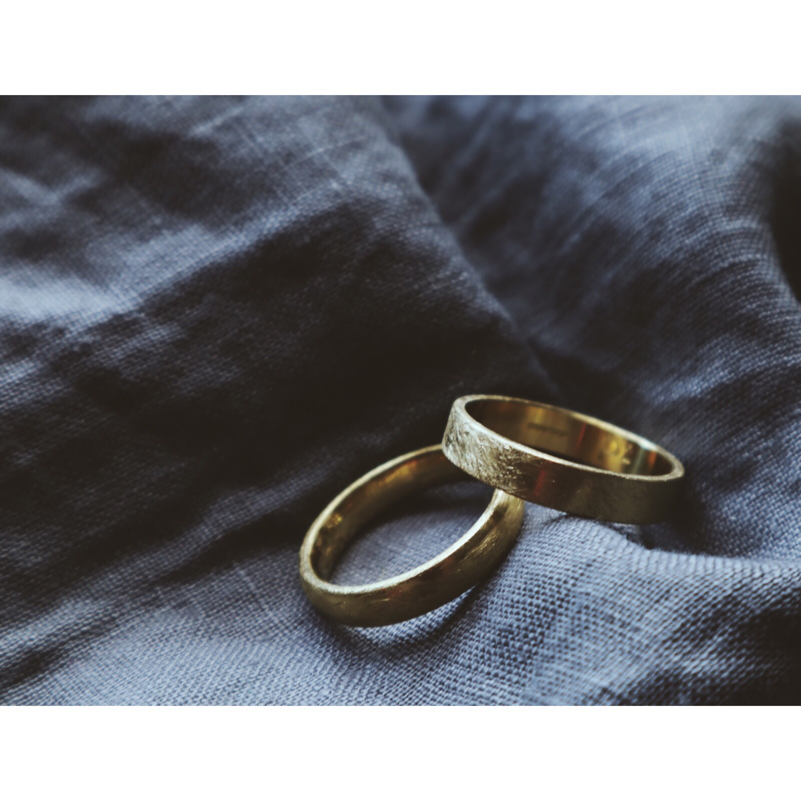 Richard and Rachel - Two 18ct yellow gold rings