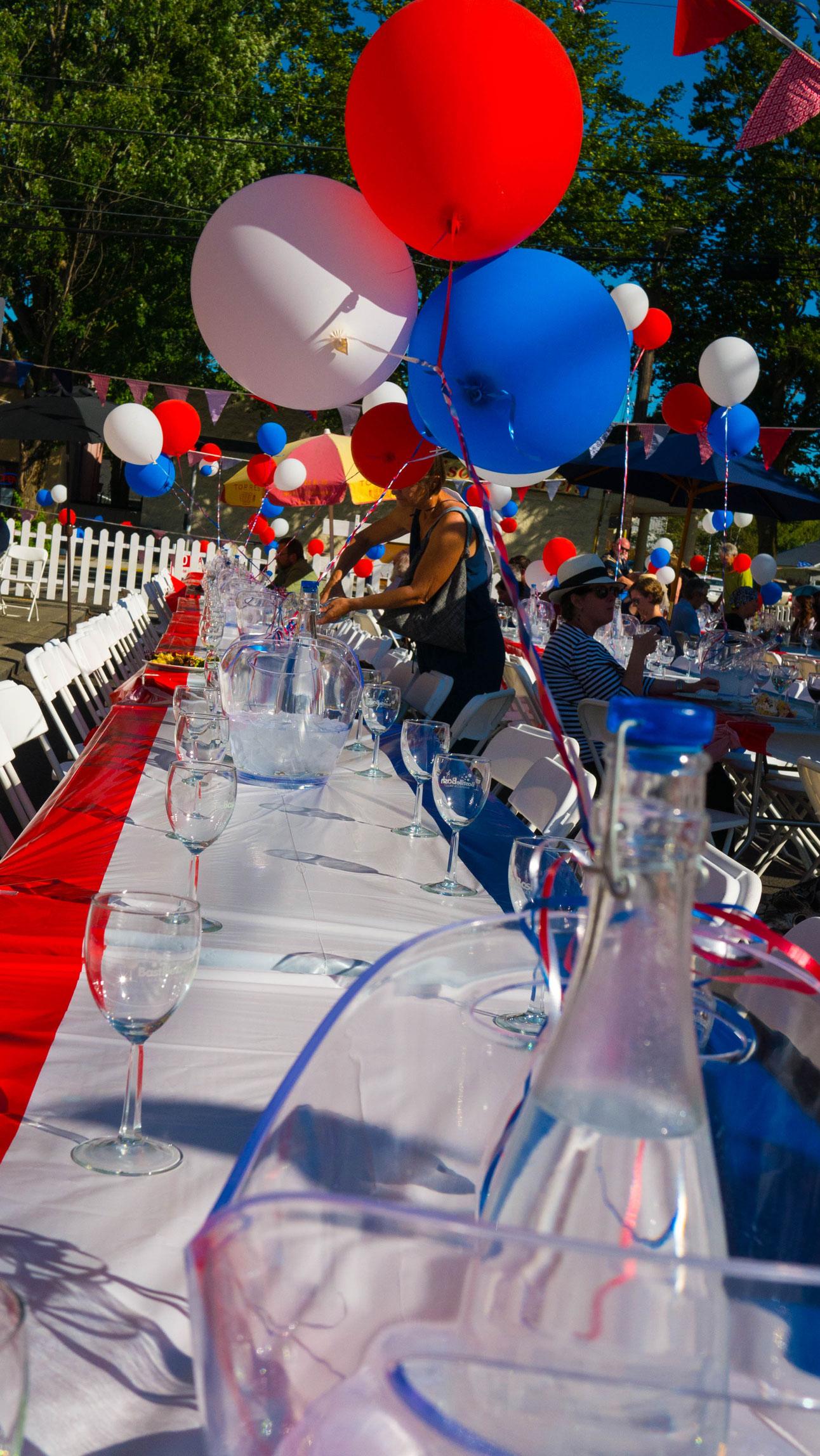 Bastille Day celebration at Luc