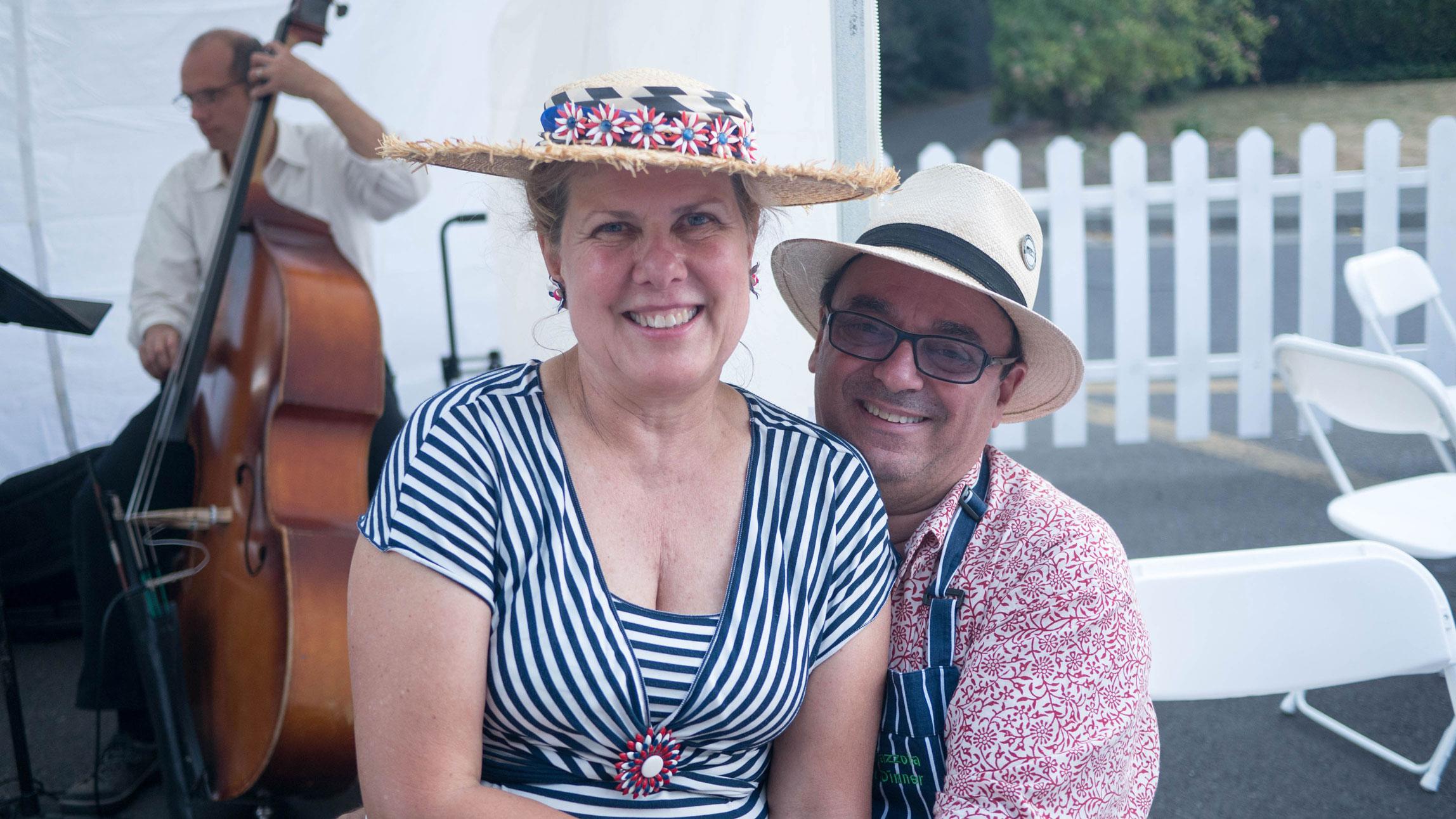Kathy & Thierry Rautureau