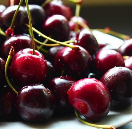 BING CHERRY CLAFOUTIS - The summer season is wonderful for many reasons. With the sunny weather come delicious fruits like these Bing Cherries.