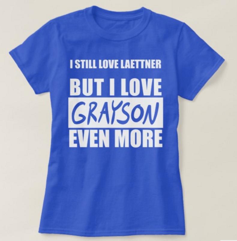 ...but I love Grayson even more