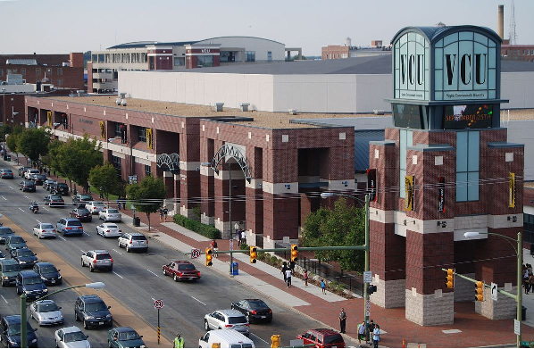 Virginia Commonwealth University Siegel Center, Richmond VA @RVA